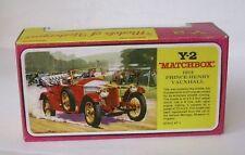 Repro Box Matchbox MOY Nr.02 Prince Henry Vauxhall Blisterbox