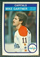 Mike Gartner 1982-83 OPC '82 O-Pee-Chee NHL Card #363 NMc Washington Capitals