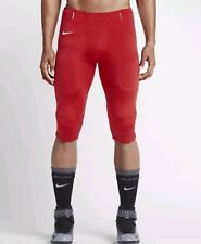 Nike Mens Open Field Football Pants Red & White Size Large MSRP $70