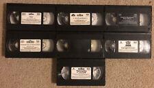 Sesame Street VHS Lot (7 Tapes)
