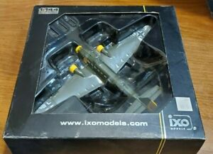 JUNKERS JU 52/3 M BOMBER PLANE GERMANY 1/144 IXO WW2 #pixj008009