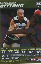 2007 Teamcoach Gold 24 Tom Harley Geelong