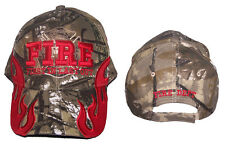 Fireman Fire Fighter Department Baseball Caps Hats Embroidered  (7501F14 ^ )