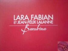 LARA FABIAN BAMBINA CD PROMO.
