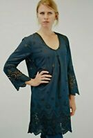 NEW The White Company Navy Broderie Lightweight Summer Chic Tunic RRP £89