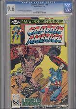 """Captain America #244 CGC 9.6 1980 """"A Monster Beserk"""" Make an Offer!"""