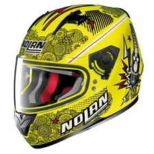 CASCO INTEGRAL NOLAN N64 N-64 LET'S GO 92 LED AMARILLO TALLA L