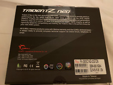 G.SKILL Trident Z Neo Series 32GB (4 x 8GB) 288-Pin DDR4 SDRAM DDR4 3800 Memory