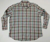 Peter Millar XXL Multi color Plaid Button Down Long Sleeve Casual Shirt 2XL