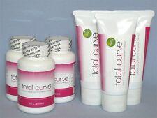 Total Curve Breast Enlargement Pills & Bust Cream Enhancement Bigger - 3 Month