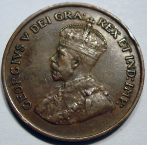 Semi Key Date 1924 1 Cent, better grade Crown Details