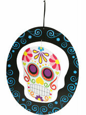 Hanging Day Of The Dead Mobile Skull Spinner Halloween Decorations New!!!