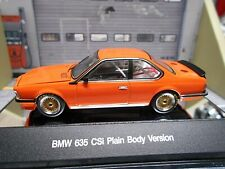 BMW 635 CSI E24 Plain Body Touringcar orange 1984 AUTOart 68448 SP 1:43