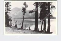 RPPC REAL PHOTO POSTCARD CALIFORNIA POMONA MAMMOTH LAKES LAKE MARY FRASHERS FOTO