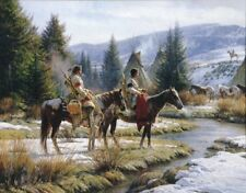Morning Vigil by Martin Grelle Print 16x13