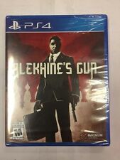 PLAYSTATION 4 PS4 GAME ALEKHINE'S GUN ** BRAND NEW FACTORY SEALED**