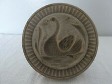 More details for kitchenalia decorative carved wood butter stamp mould mold pat swan
