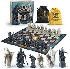 More details for official lord of the rings lotr collectors full size chess set new board game