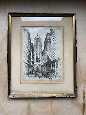 Chicago Board of Trade Vintage Framed Print