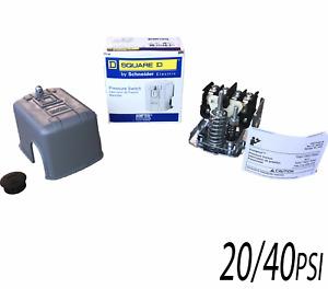 "20/40psi, Square D, Water Pump Pressure Switch, #9013FSG2 1/4""FPT, SQ-D"