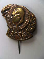 YUGOSLAVIA Greetings Tito 1945-1955 vintage pin badge RARE