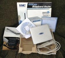SMC Networks Barricade 4 Port Wireless Broadband Router SMCWBR14-G 802.11g