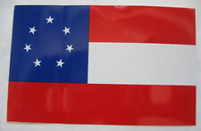 Pegatinas First National Flag bandera sticker csa Rebel confederados estados sureños