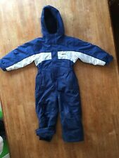 Boys Alpine Snow Ski All In One Winter Suit  Age 3 Years Excellent Condition