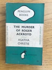 The Murder Of Roger Ackroyd Agatha Christie 1950 Penguin 694