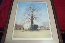Signs of Spring artist John Furches signed numbered Framed