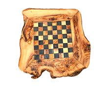 Jeux d'échec [43 cm/17 pouces] bois olivier cadeau noël  fait à la main original