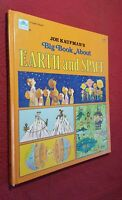 EARTH AND SPACE By Golden Books HARDCOVER