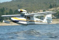 Giant 1/3 Scale Anderson Kingfisher Seaplane Plans,Templates, Instructions 144ws