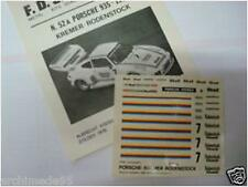 PORSCHE 935 KREMER-RODENSTOCK 1976 DECAL 1/43