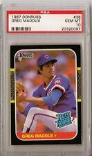 Greg Maddux Braves HOF 1987 Donruss 36 Rated Rookie Card rC PSA 10 Gem Mint QTY
