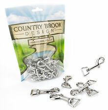 10 - Country Brook Design® 5/8 Inch Swivel Snap Hooks