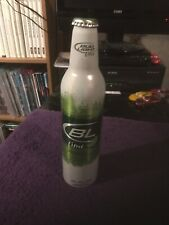 Bud Light Lime White Green Aluminum Beer Bottle Usa Can 16 Fl Oz
