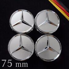 Mercedes 75mm Radkappen Radblenden Felgendeckel Nabendeckel Radzierblenden 75 mm