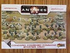 Beyond The Gates Of Antares: C3 Concord Combined Command Starter Army
