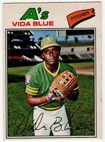 1977 VIDA BLUE OAKLAND A'S OPC O PEE CHEE BASEBALL CARD #75