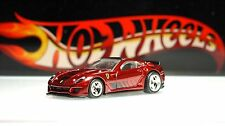 Hot Wheels / Ferrari 599XX / Red / Real Riders / Super Treasure Hunt ~ 2012 RARE