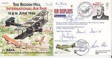 JS(CC)11Biggin Hill International Air Fair Special Signed 5  15 6 96 BFPS 2520 B