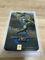 Monster Hunter Rise Steelbook case (case only, no soft) nintendo switch