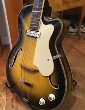 EKO Vintage Semi Hollow Electric Guitar