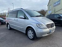 Mercedes Viano 2.1 CDi 6 Seater 05/55 Auto MOT 25/10/21 PX To Clear