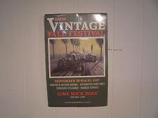 BMW 1987 Vintage Fall sFestival Lime Rock Park unframed Promotional Poster 17x11