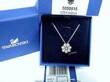 Swarovski Astrid Aquamarine Pendant, Flower Petals Clear Crystal MIB - 5055515