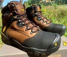 """Keen Men's Size 8 D Steel Toe Waterproof New Boots Work  Louisville 6"""" 1007965D"""