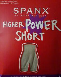 Spanx Power Series Shaping Short one piece Soft Nude 1X  panties Jewelryovertime
