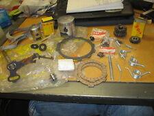 NOS Suzuki OEM Parts Lot #1 Pistons Frictions Plates Sorubgs Gears Kick Shaft